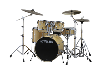 Yamaha Stage Custom Birch Fusion Drum Kit - Natural Wood inc HW780 Hardware - Left