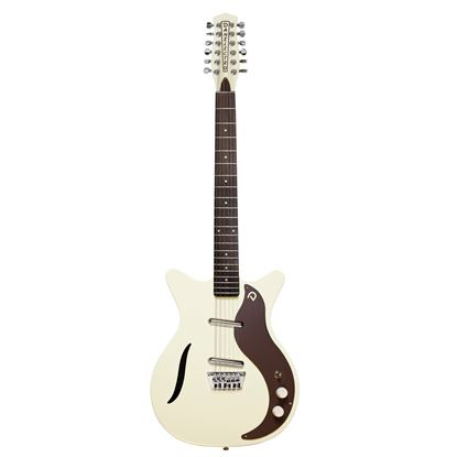 Danelectro Vintage 12-String Electric Guitar Vintage White - Front