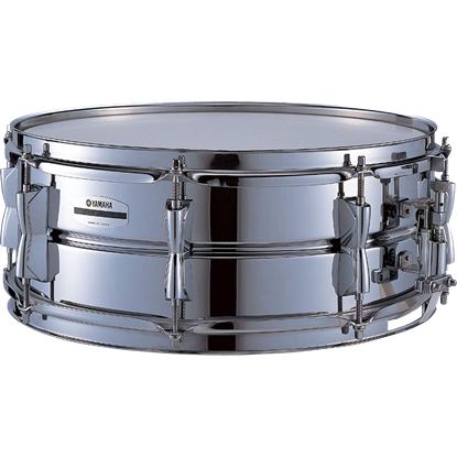 Yamaha SD265A 14 x 5.5in Stage Custom Steel Snare Drum - Front