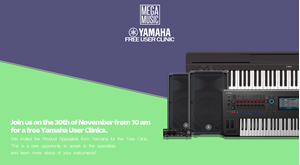 Yamaha User Clinics
