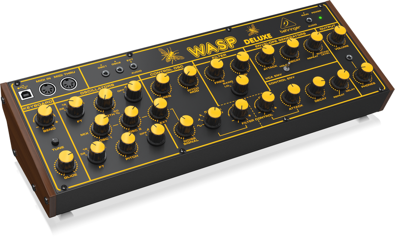 Behringer Wasp Deluxe Synthesizer - Left