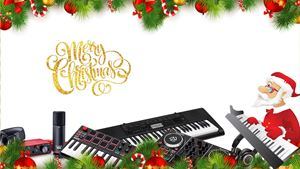 Christmas Gifts For Keyboard Players and Home Recording
