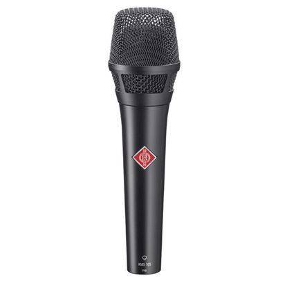 Neumann KMS 105 BK Handheld Condenser Vocal Microphone in Black - Front