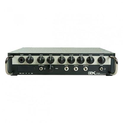 Gallien-Krueger 1200 watt Ultralite Head,SW Mode Amp, Analog Preamp - Front