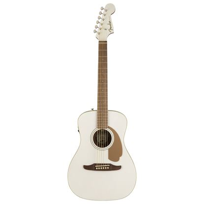 Fender California Malibu Player Acoustic Guitar Arctic Gold - Front