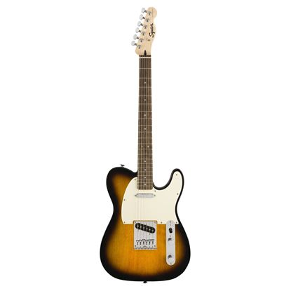 Squier Bullet Telecaster Electric Guitar Brown Sunburst - Front