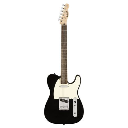Squier Bullet Telecaster Electric Guitar Black - Front