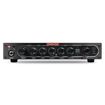 Positive Grid Mini Bass Amp Head 300w - Front