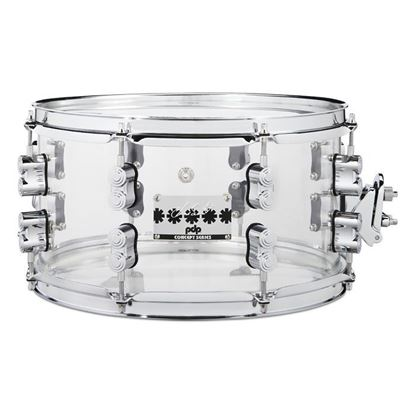 PDP Chad Smith Signature 13in x 7 Snare Drum in Clear Acrylic