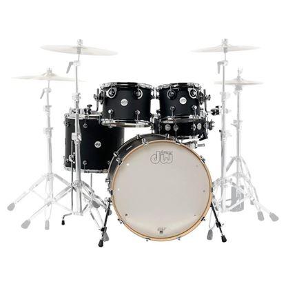DW Design 22 inch 5 Piece Drumkit - Black Stain
