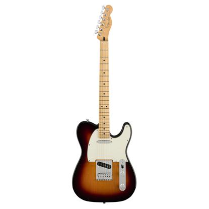 Fender Player Telecaster Electric Guitar - Maple Neck - 3 Colour Sunburst - Front