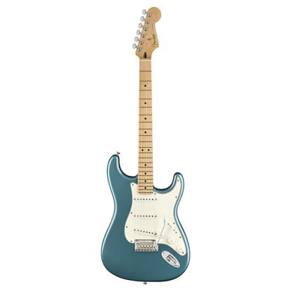 Fender Player Stratocaster Electric Guitar - Maple Neck - Tidepool - Front