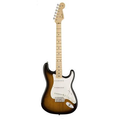 Fender American Original 50s Stratocaster Electric Guitar - Maple Neck - 2 Colour Sunburst - Front