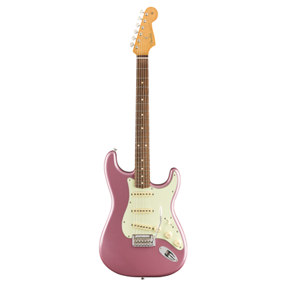 Fender Vintera 60s Stratocaster Modified Electric Guitar PF - Burgundy Mist Metallic - Front