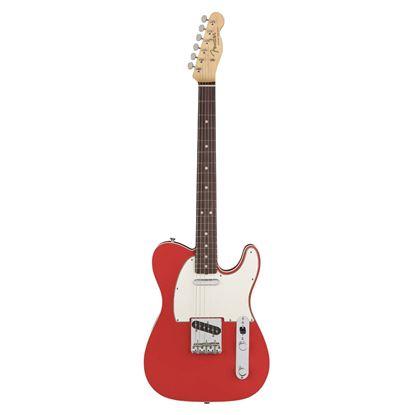 Fender American Original 60s Telecaster Electric Guitar - Rosewood Fingerboard - Fiesta Red - Front
