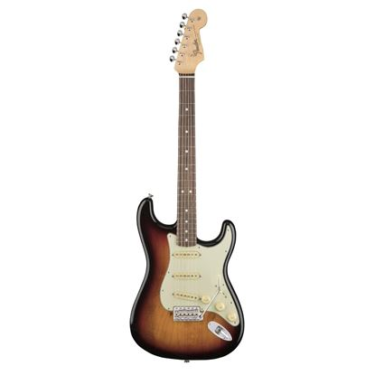 Fender American Original 60s Stratocaster Electric Guitar - Rosewood Fingerboard - 3 Colour Sunburst - Front
