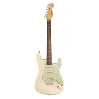Fender American Original 60s Stratocaster Electric Guitar - Rosewood Fingerboard - Olympic White - Front