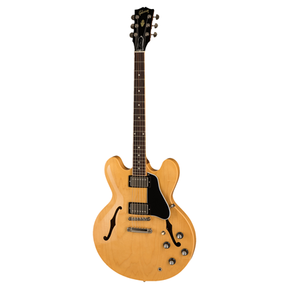 Gibson ES-335 Dot Electric Guitar - Dark Natural - Front