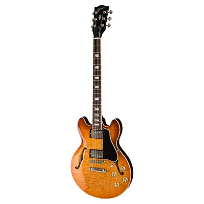 Gibson ES-339 Electric Guitar - Figured Faded Lightburst - Front
