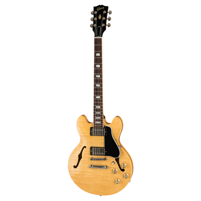 Gibson ES-339 Electric Guitar - Figured Dark Natural - Front