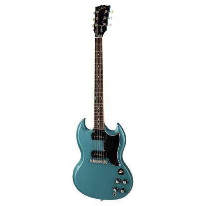 Gibson SG Special Electric Guitar - Faded Pelham Blue - Front