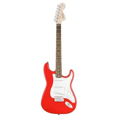 Squier Affinity Series Stratocaster Electric Guitar - Indian Laurel - Race Red Front