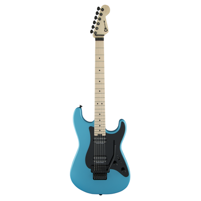 Charvel Pro Mod San Dimas Style 1 HH Floyd Rose Electric Guitar MN - Matte Blue Frost - Front
