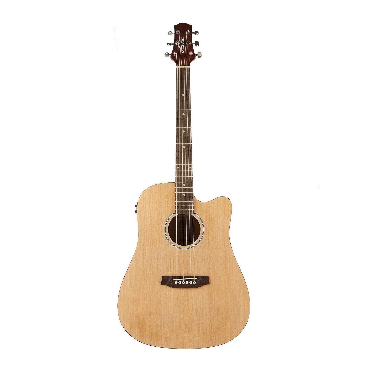 Ashton Acoustic Guitar Bundle -  Ashton D20CEQ