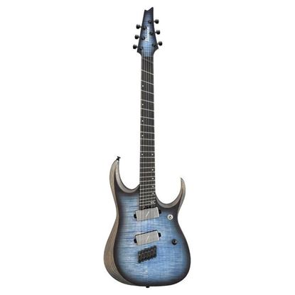 Ibanez RGDIM6FFM Iron Label Multi Scale Electric Guitar Full View