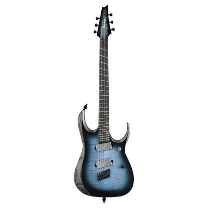 Ibanez RGD61ALMS Electric Guitar - Cerulean Blue Burst Low Gloss