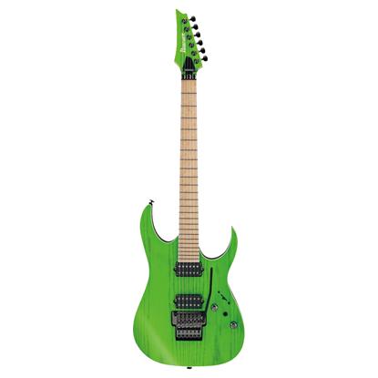 Ibanez RGR5220M TFG Prestige Electric Guitar Transparent Fluorescent Green - Front