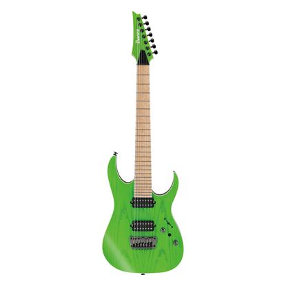 Ibanez RGR5227MFX TFG Prestige Electric Guitar Transparent Fluorescent Green - Front