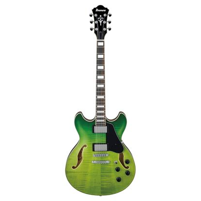 Ibanez AS73FM Hollow Body Guitar - Green Valley Gradation