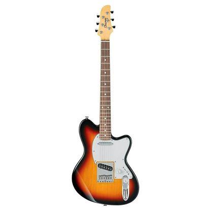 Ibanez TM1702M Prestige Talman Electric Guitar - Tri Fade Burst - Front