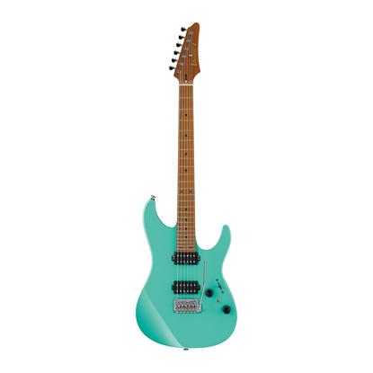 Ibanez AZ2402 SFG Prestige Electric Guitar with Case - Sea Foam Green - Front
