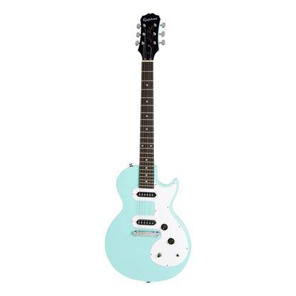 Epiphone Les Paul SL Electric Guitar Turquoise - Front