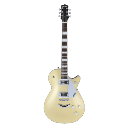Gretsch G5220 Electromatic Jet BT Electric Guitar BW Casino Gold - Front