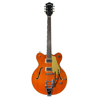 Gretsch G5622T Electromatic Centre Block Double-Cut Electric Guitar LRL Orange Stain - Front