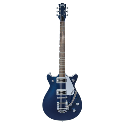 Gretsch G5232T Electromatic Double Jet FT Electric Guitar LRL Midnight Sapphire - Front