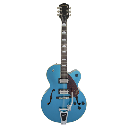 Gretsch G2420T Streamliner Hollow Body with Bigsby Electric Guitar - Riviera Blue - Front