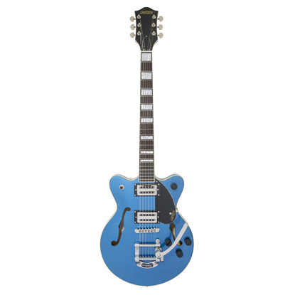 Gretsch G2655T Streamliner Centre Block Jr with Bigsby Electric Guitar - Fairlane Blue - Front