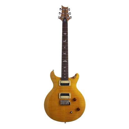 PRS SE Santana Electric Guitar in Yellow - Front