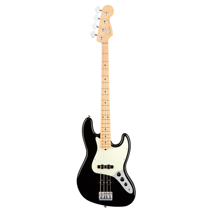 Fender American Professional Jazz Bass Guitar - Maple Neck - Black