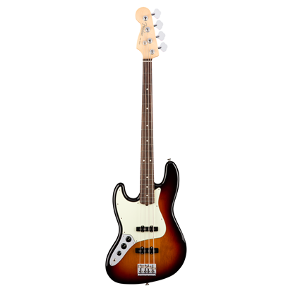 Fender American Professional Jazz Bass Guitar Left-Hand - Rosewood Neck - 3 Colour Sunburst