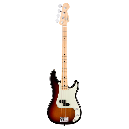 Fender American Professional Precision Bass Guitar - Maple Neck - 3 Colour Sunburst