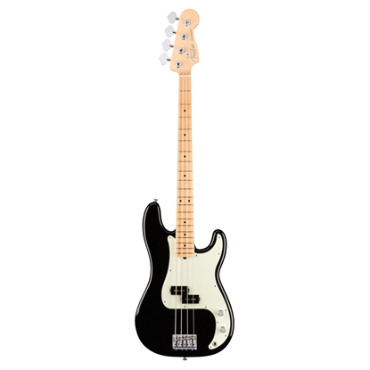 Fender American Professional Precision Bass Guitar - Maple Neck - Black