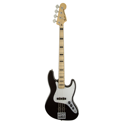 Fender Geddy Lee Jazz Bass Guitar - Maple Neck - Black