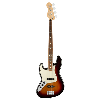 Fender Player Jazz Bass Guitar Left Handed PF 3-Colour Sunburst - Front
