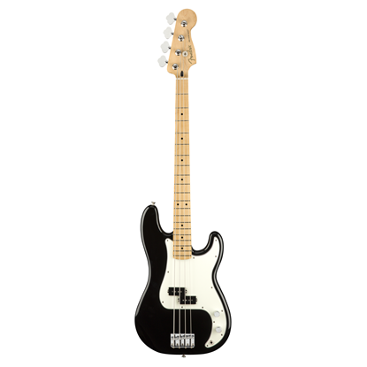 Fender Player Precision Bass Guitar MN Black - Front
