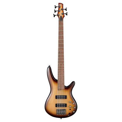 Ibanez SR375E 5 String Bass Guitar - Natural Browned Burst
